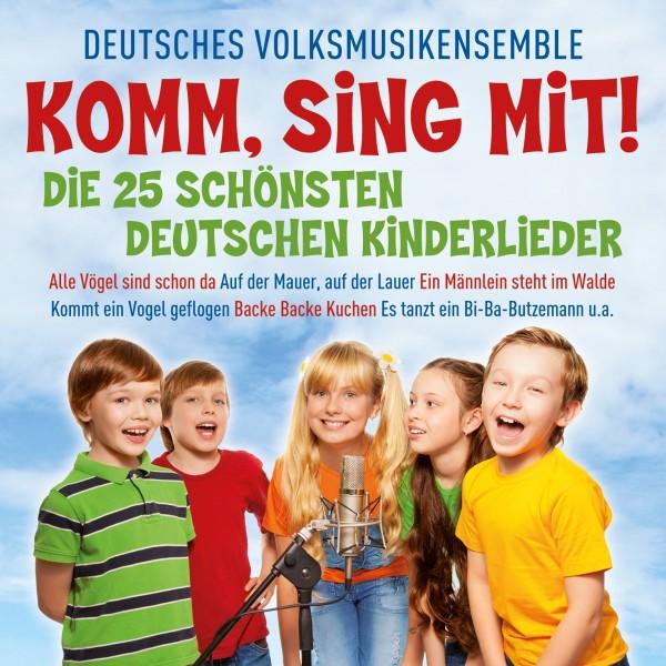 Komm, SIng MIt! Die 25 Schönsten Deutschen Kinderlieder