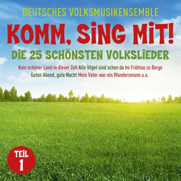 Komm, Sing Mit! Die 25 Schönsten Volkslieder. Teil 1