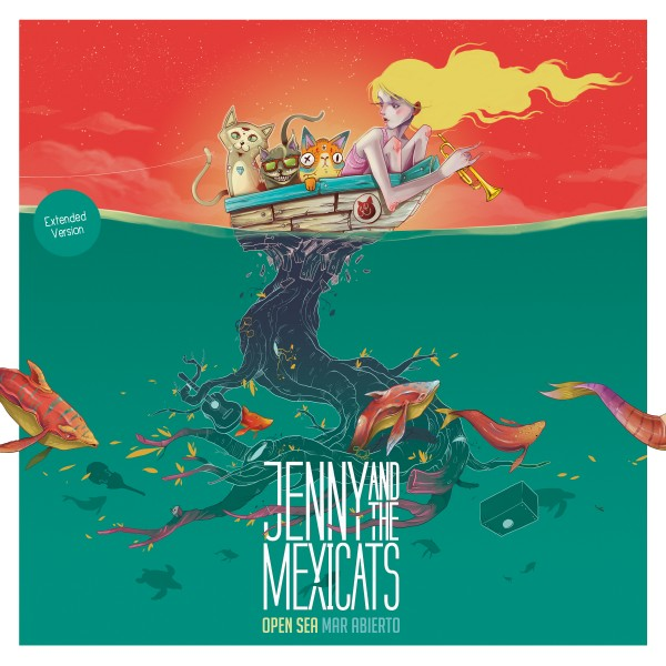 Jenny and the Mexicats - Open Sea / Mar Abierto Vinyl (Extended Version)
