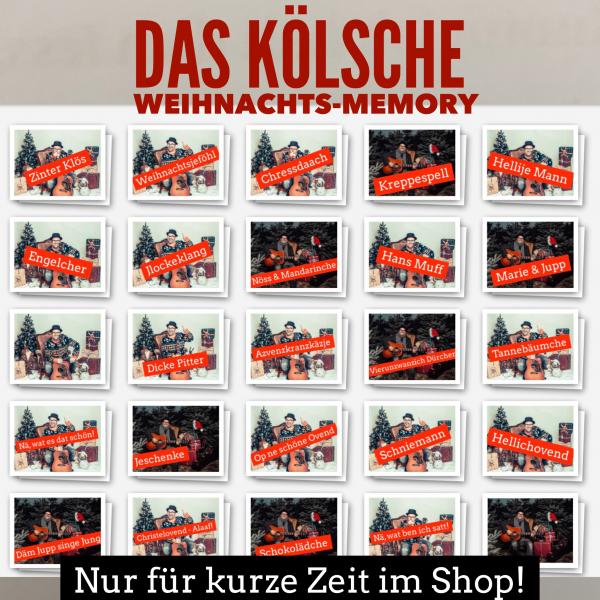 Björn Heuser Kölsches Weihnachts-Memory